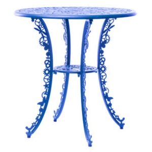 Industry Garden Round table - / Ø 70 cm by Seletti Blue