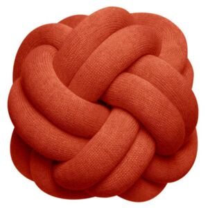 Knot Cushion - / Handmade - 30 x 30 cm by Design House Stockholm Red