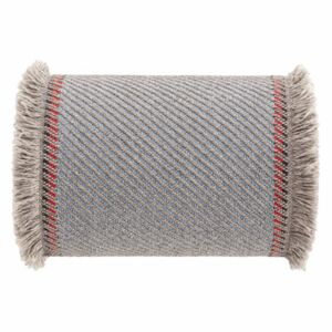 Garden Layers Cushion - / Large roll - Handwoven by Gan Blue/Beige