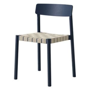 Betty TK1 Stacking chair by &tradition Blue