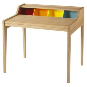 Remix Desk - The Desk by The Hansen Family Multicoloured/Natural wood