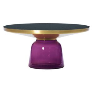 Bell Coffee Coffee table - Ø 75 x H 36 cm by ClassiCon Purple