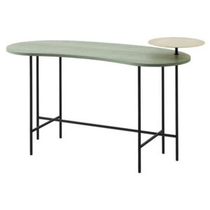 Palette JH9 Desk - 2 tops by &tradition Green/Black/Gold