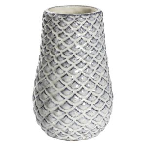 Tetra Fish Scale Patterned Vase, Small