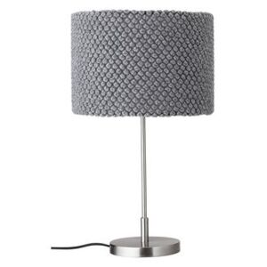 Table lamp - / Knitting - H 62 cm by Bloomingville Grey