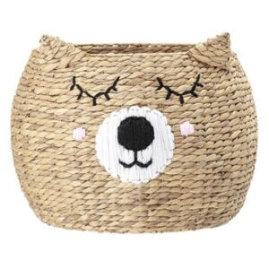 Ourson Basket - / Water hyacinth by Bloomingville Beige