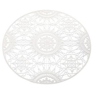 Italic Lace Tablemat - Trivet - Ø 34 cm by Driade Kosmo White