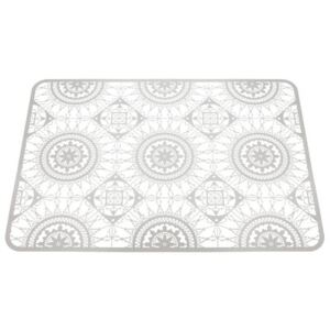 Italic Lace Tablemat - 45 x 32 cm - Trivet by Driade Kosmo White