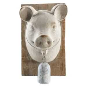 Perci Pig Bust with Bell