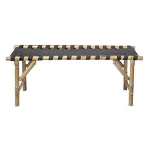 Vida Bench - / L 115 cm - Collapsible legs by Bloomingville Natural wood