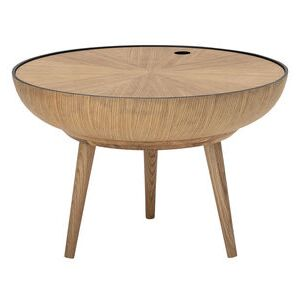 Ronda Coffee table - / Detachable top - Ø 60 cm by Bloomingville Natural wood