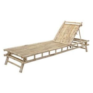 Sole Sun lounger - / Bamboo - Multiposition by Bloomingville Natural wood