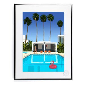 Paulo Mariotti - Palm Springs Poster - 40 x 50 cm by Image Republic Multicoloured
