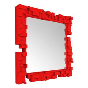 Pixel Wall mirror by Slide Red