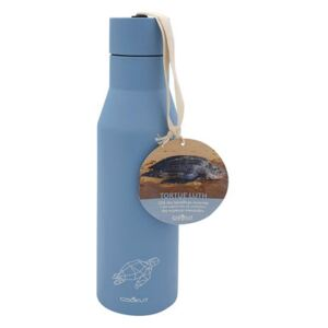 Tortue Luth Insulated bottle - / 0.5 L - Protecting endangered species by Cookut Blue