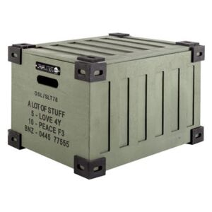 Trunk Box - / Wood - L 32 x H 26 cm by Diesel living with Seletti Green