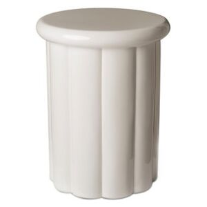 Roman Stool - / Lacquered plastic by Pols Potten Beige