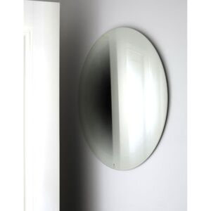Fading Small Wall mirror - Ø 55 cm by ENOstudio White
