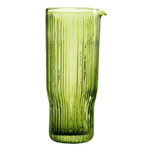 Riffle Carafe - / 1 Litre - Glass by & klevering Green