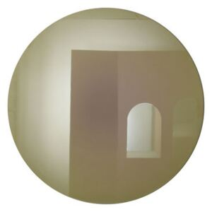 Fading Large Wall mirror - / Ø 103 cm by ENOstudio Gold