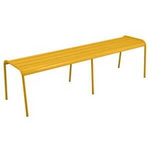 Monceau XL Bench - L 160 cm / 3 to 4 seaters by Fermob Yellow