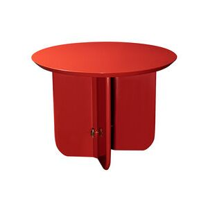 Be Good Small Coffee table - / Ø 55 x H 40 cm - Lacquered wood by RED Edition Red