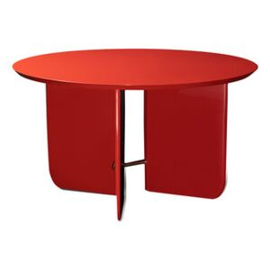 Be Good Large Coffee table - / Ø 80 x H 45 cm - Lacquered wood by RED Edition Red