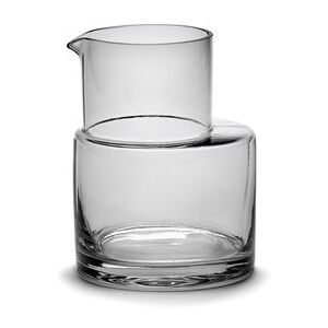 Inner Circle Carafe - / 75 cl - Glass by valerie objects Grey