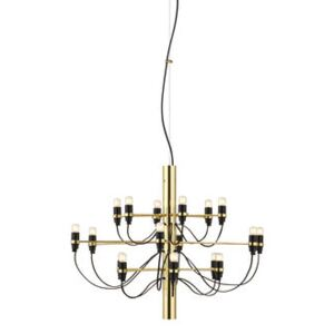 2097 Pendant - / 18 frosted bulbs INCLUDED - Ø 69 cm by Flos Gold/Metal