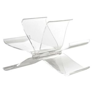 Front Page Magazine holder by Kartell Transparent