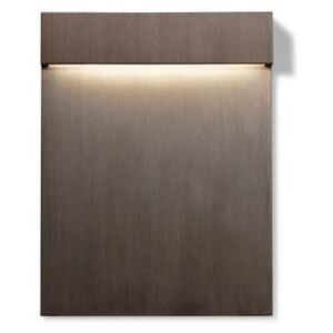 Real Matter Outdoor wall light - / LED by Flos Metal