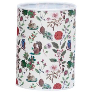 Lampshade - Printed - Ø 14 cm x H 19 cm by Domestic Multicoloured