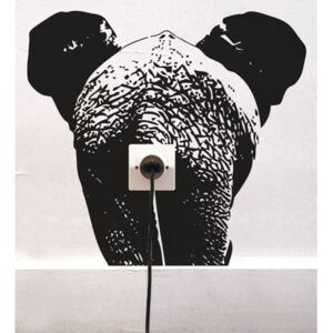 Zoo Eléphant Sticker by Domestic Black