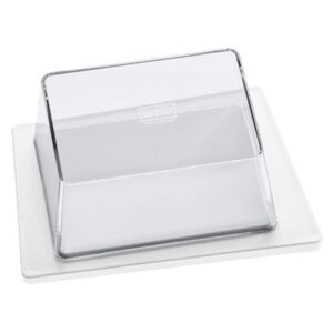 Kant Butter dish by Koziol White/Transparent
