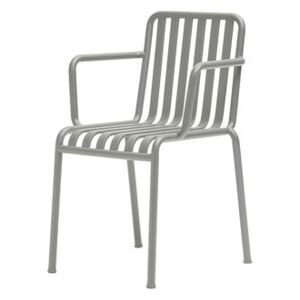 Palissade Stackable armchair - R & E Bouroullec by Hay Grey