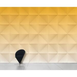 Floating Panoramic Wallpaper - Panoramic - 8 widths by Domestic Yellow/Gold