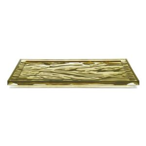 Dune Small Tray - / 46 x 32 cm - PMMA by Kartell Green