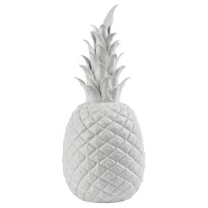 Pineapple Small Decoration - H 32 cm by Pols Potten White
