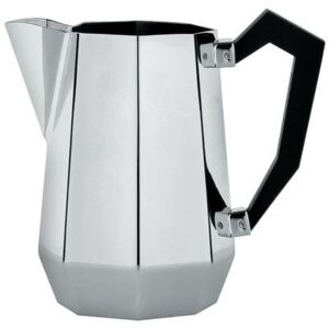 Memories from the future - Ottagonale Milk pot by Alessi Black/Metal