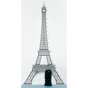 Measuring souvenir from Paris Sticker - Height gauge by Domestic Grey