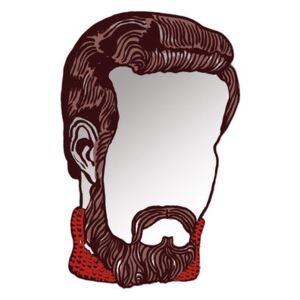 Monsieur self-sticking mirror - autocollant by Domestic Mirror