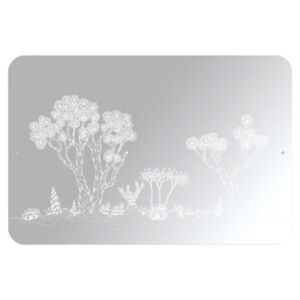 Landscape self-sticking mirror - Self-adhesive by Domestic Mirror