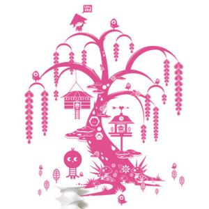 Willow tree Sticker by Domestic Pink