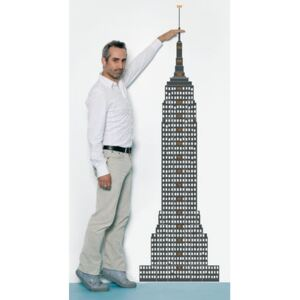 Measuring souvenir from New York Sticker - Height gauge by Domestic Grey