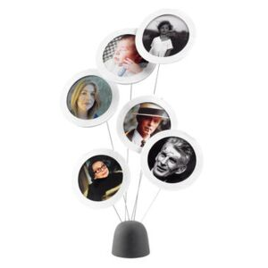 Photo Tree Photo holder - For 6 pictures - 35 cm by L'atelier d'exercices White/Black