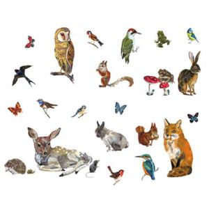Les animaux 2 Sticker - Set of 27 stickers by Domestic Multicoloured