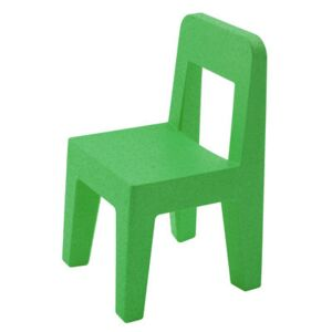 Seggiolina Pop Children's chair by Magis Collection Me Too Green