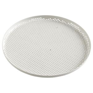 Perforated Tray - / Large - Ø 35 cm by Hay Grey