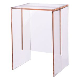 Max-Beam End table - Stool by Kartell Pink