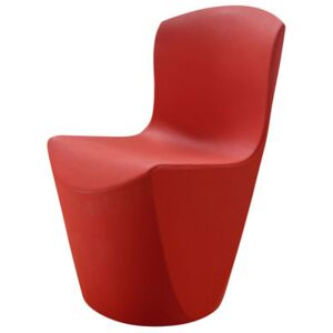 Zoe Chair - Plastic by Slide Red